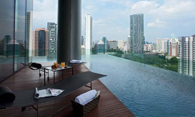 Kết quả hình ảnh cho hồ bơi căn hộ