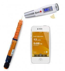 Rastreador de insulina Bee+