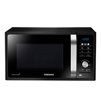 Microwave with multi step programming alleviates cooking stress.Source: Samsung