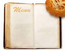 Obraz znaleziony dla: menu w restauracji ksiazka