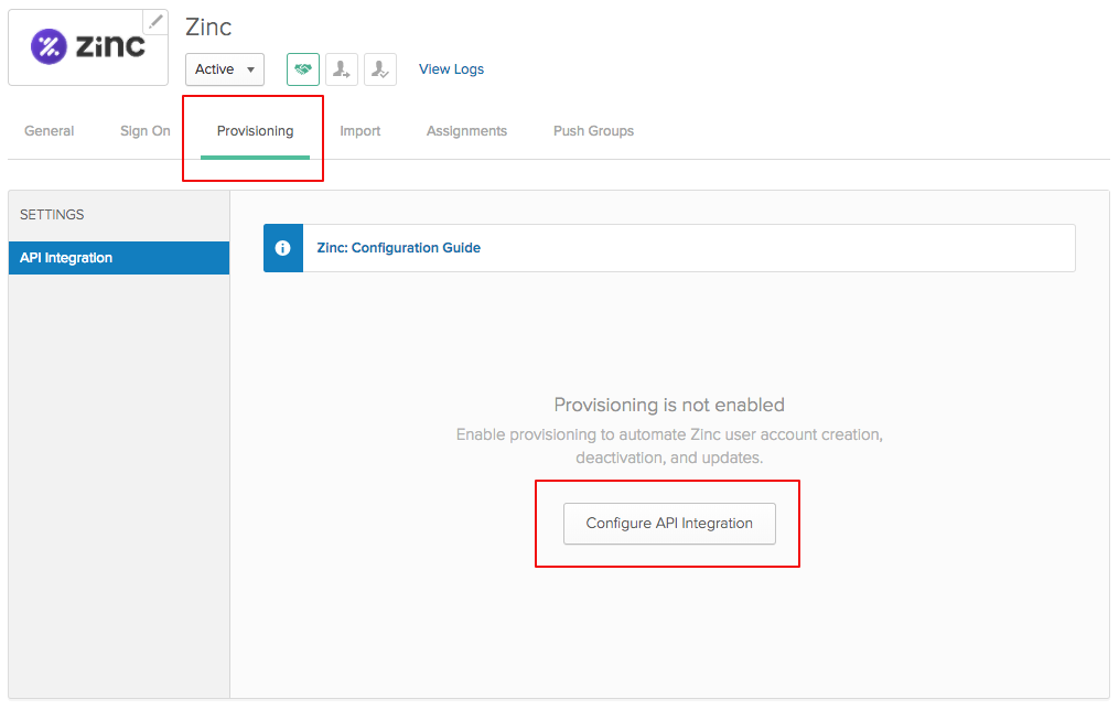 Setting up AD Sync with OKTA | Zinc User Support Center
