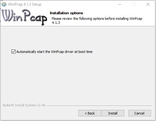 Setup Steps: Install Wireshark On Windows