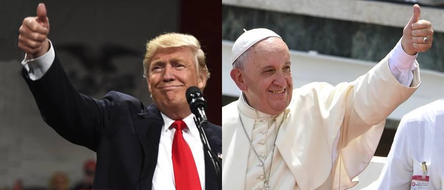 Đức Thánh Cha Phanxico nói về ông Trump