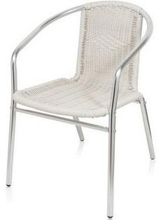 Алюминиевый стул — каркас лёгкий, не гнётся при падениях и ударах