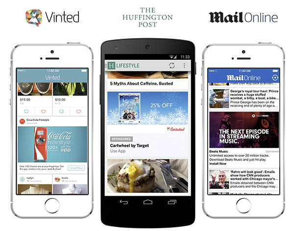 mobile ad format native ads