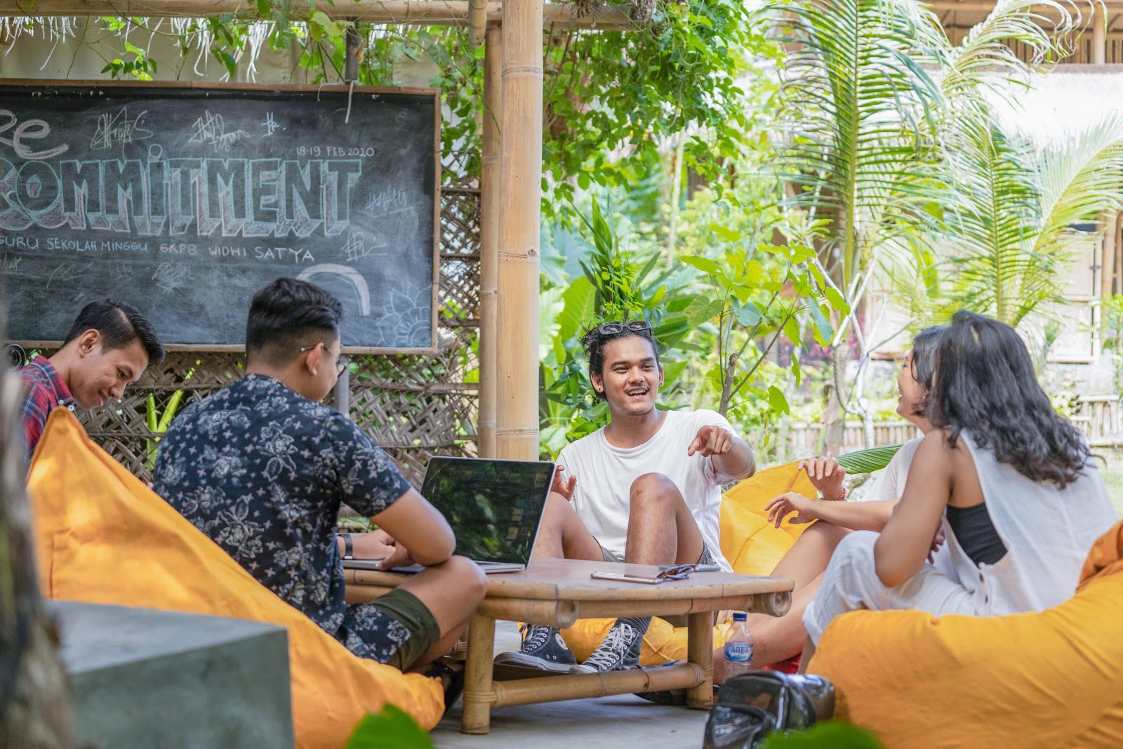 Benefit stay di hostel