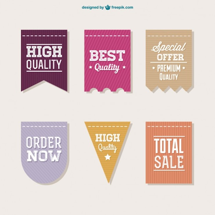 high-quality-labels-collection