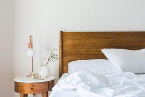 Think about style when you pick bedside lamps for your new home