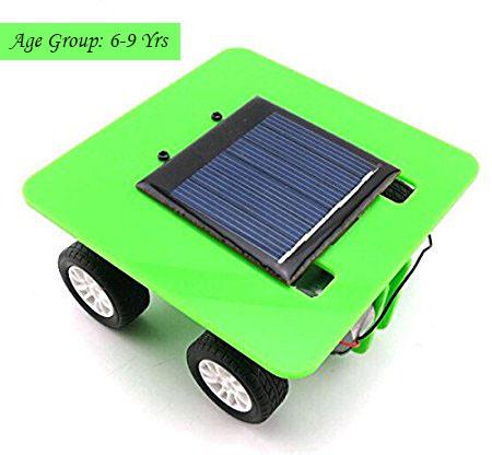 DIY Solar Powered Car