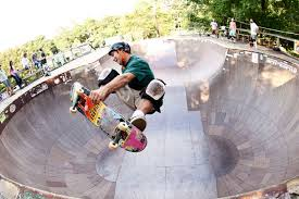 Image result for the bowl at the skate park that looks like a paper