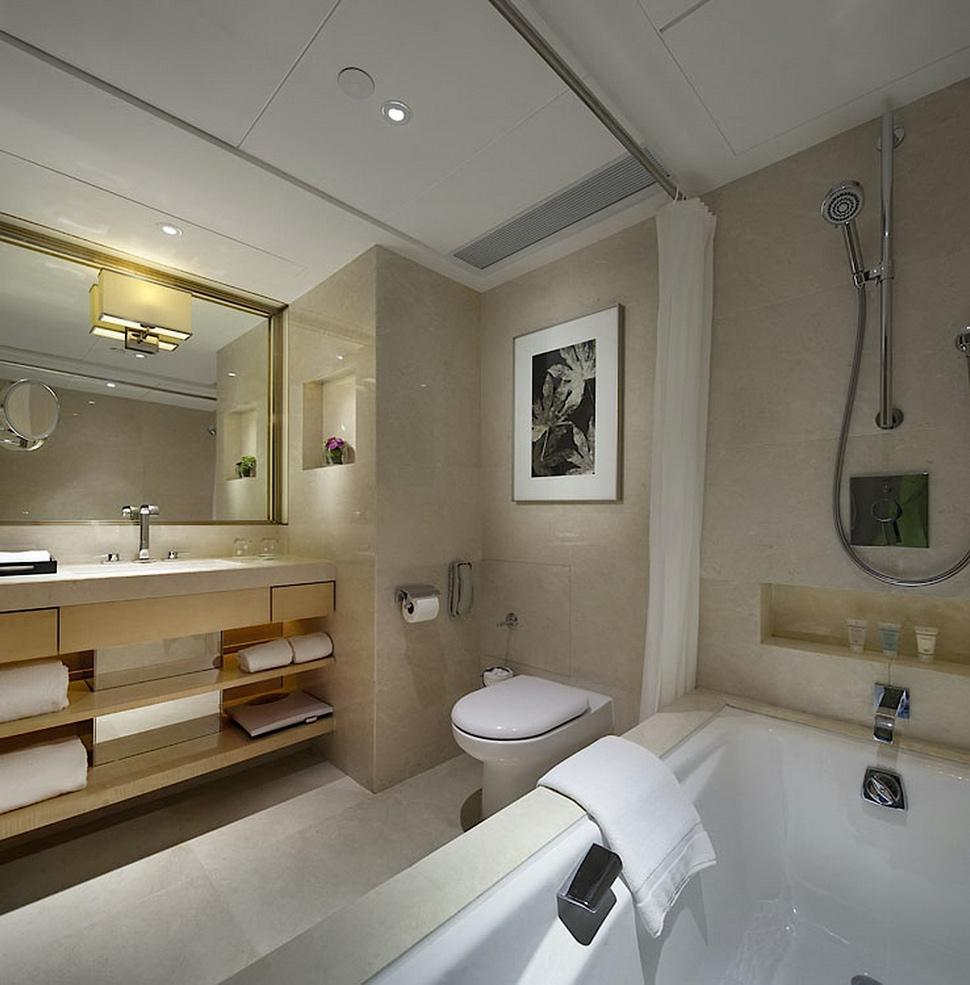 A Bathroom With A Tub Sink And Toilet  Description Automatically Generated With Medium Confidence