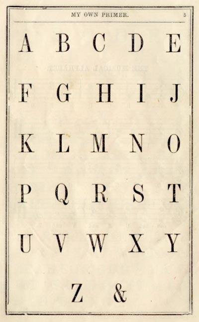 Image result for alphabet with ampersand