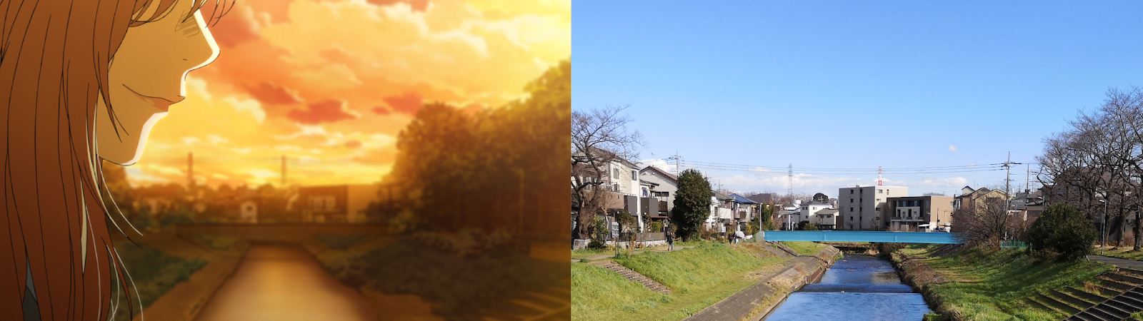 your lie in april, anime, real life, pilgrimage, shigatsu wa kimi no uso
