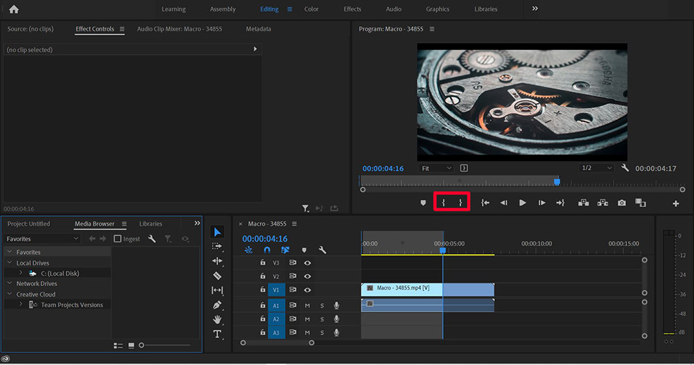 premiere pro export and save