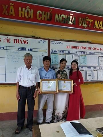 Trường Tiểu học Tây Thuận với Hội nghị CB-CNVC