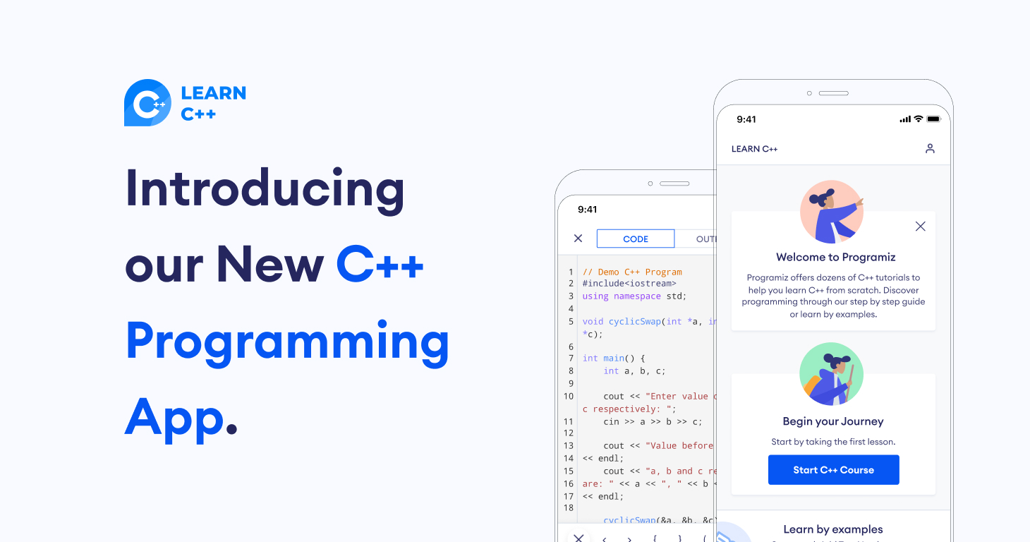 Introducing our new C++ app