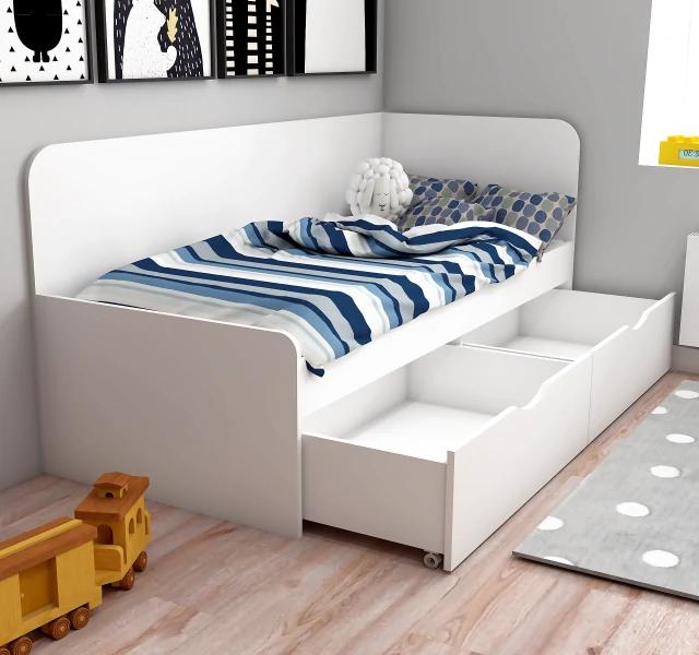 Кровать с одним или несколькими ящиками