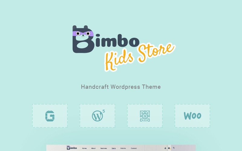 Fastest WooCommerce themes Bimbo