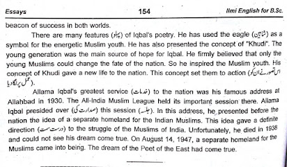 Essay On My Favourite Personality Allama Iqbal In English