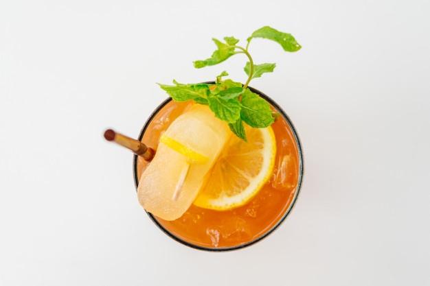Barbados sunrise cocktail