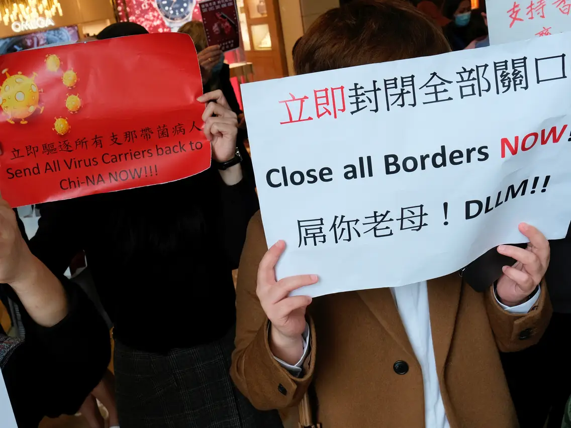 Protestas y el Coronavirus son un doble golpe para Hong Kong