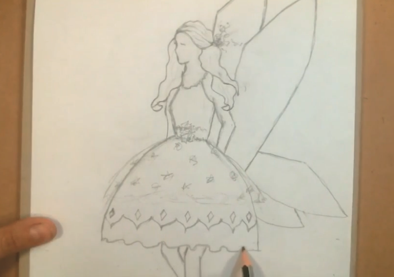 fairy princess drawing prompts