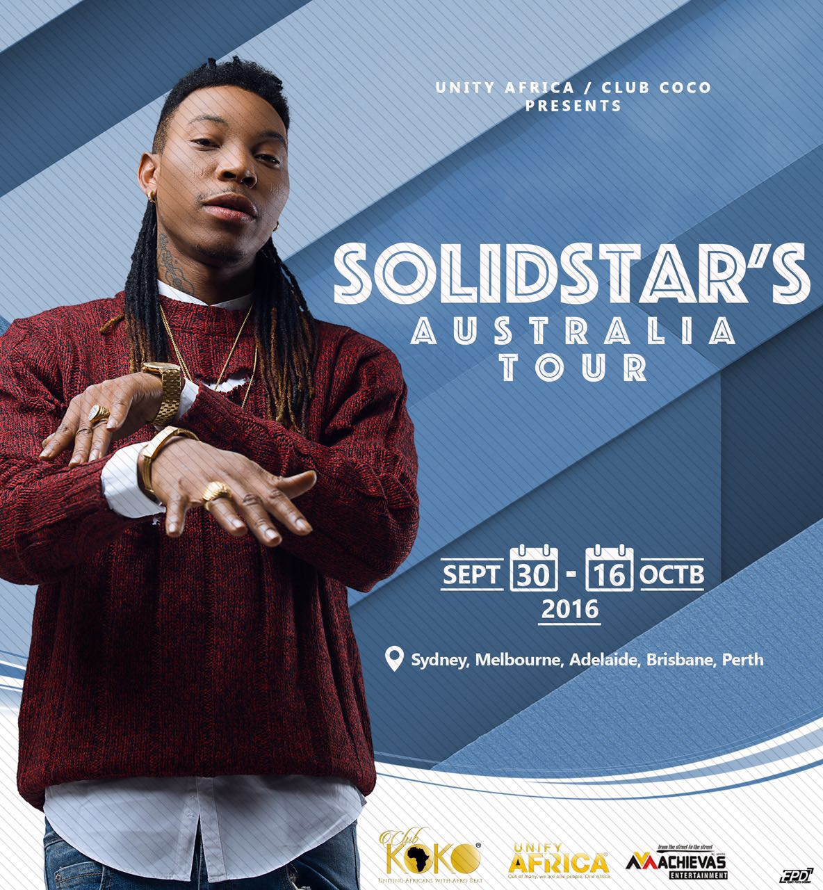 Solidstar Announces Australian Tour
