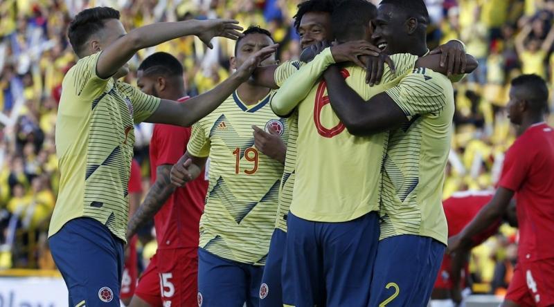 Resultado de imagem para amistoso seleção da colômbia em 3 de junho de 2019
