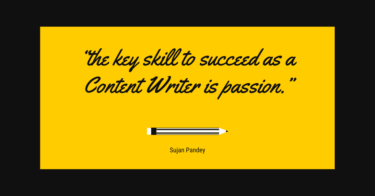 Content Writing is creativity