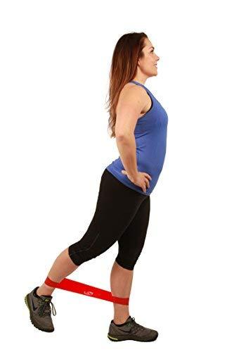 #3: FIT SIMPLIFY RESISTANCE LOOP EXERCISE BANDS WITH INSTRUCTION GUIDE, CARRY BAG, EBOOK AND ONLINE WORKOUT VIDEOS, SET OF 5