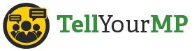 Tell Your MP Logo