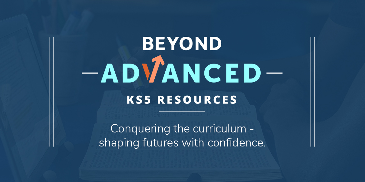 Preparation for A Level with Beyond: Advanced's teaching resources.