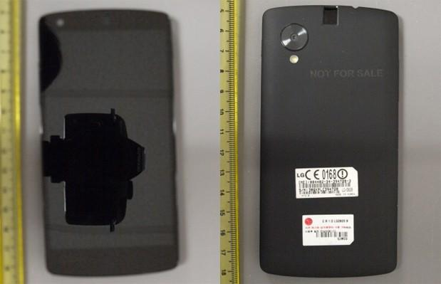 LG's Nexus 5 visits the FCC again, Clearer external shots