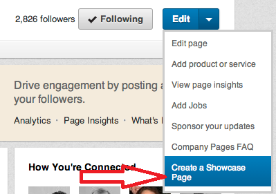 How To Create LinkedIn Showcase Page