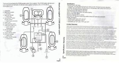 [DIAGRAM_3ER]  Logitech x-540 manual pdf | John Deere X530 Wiring Diagram |  | Google Docs