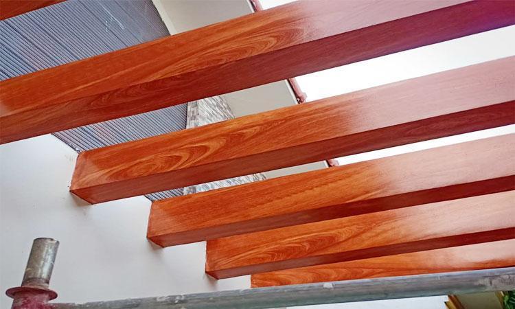 Đơn vị báo giá thi công sơn giả gỗ rẻ, nhanh, chất lượng