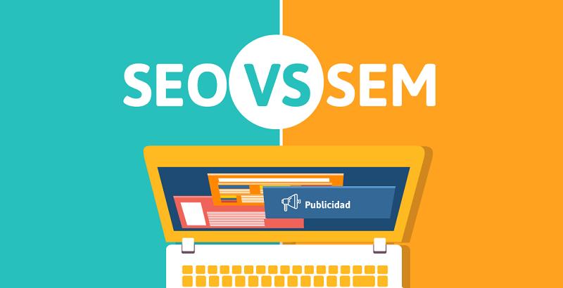 Sự khác biệt giữa SEO và SEM (cre: Online maketing)