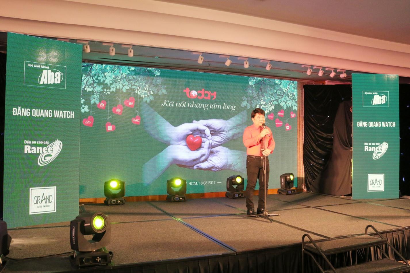 Description: 1. Ông Lâm Chí Thiện – Chủ tịch HĐQT Tập đoàn IMC gửi lời tri ân đến nhà tài trợ.JPG