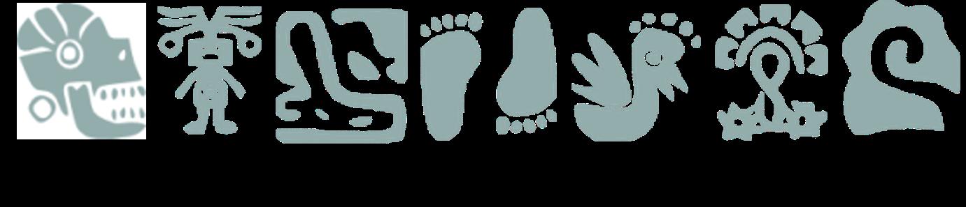 Imagen que contiene las diferentes licenciaturas de la ENAH y sus respectivos iconos