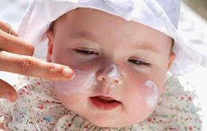 Уход за кожей ребёнка