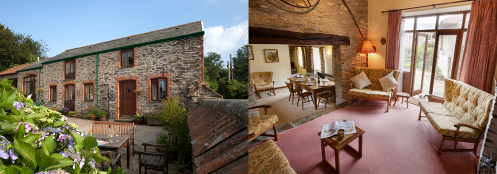 Beautiful holiday cottage accommodation at Bampfield Farm, Goodleigh.