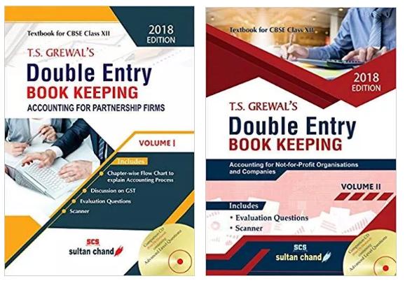 TS Grewal Accountancy Class 12 Solutions 2018 Volume 1 & 2
