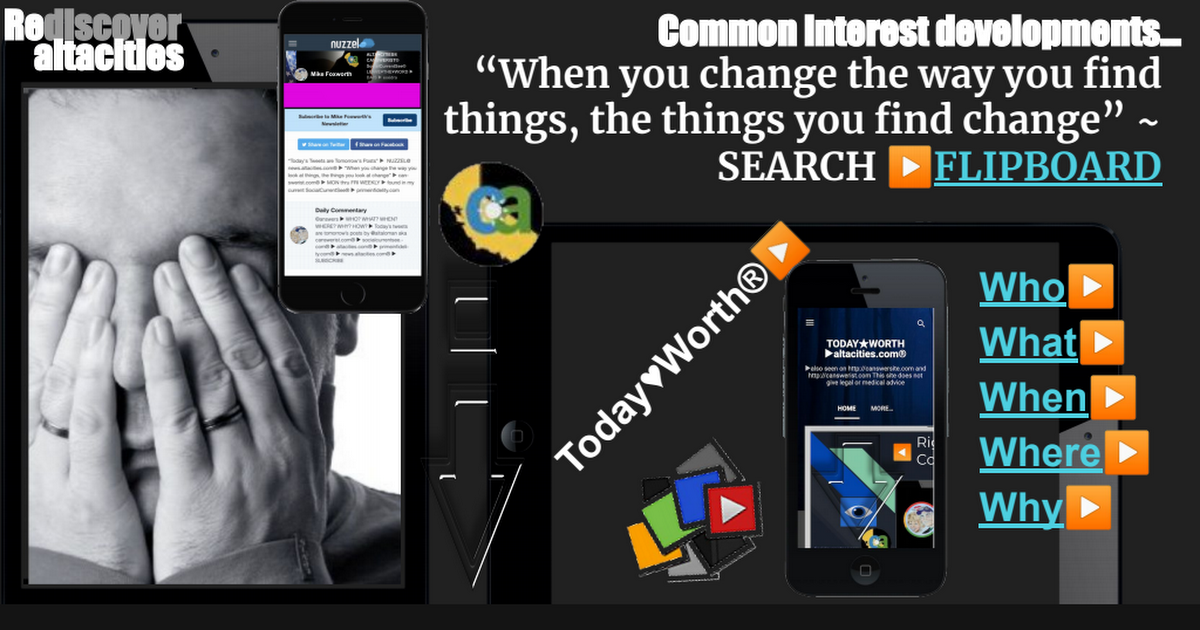 3.26.21 ▶ reDISCOVER ▶ SocialCurrentSee® ALTACITIES.com® ▶
