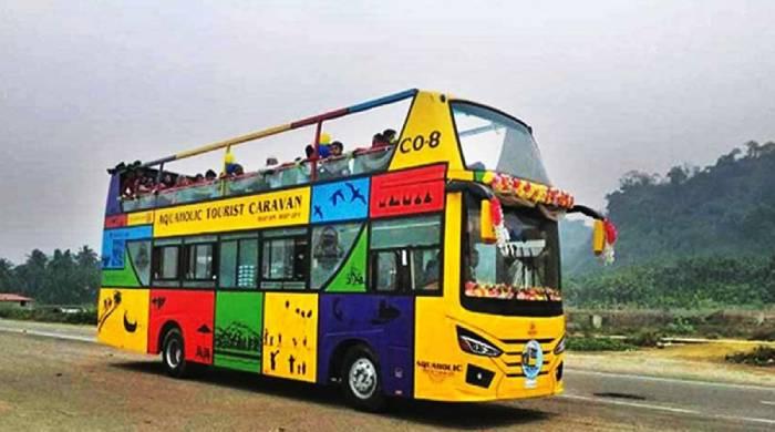 Cox's Bazar Tourist bus