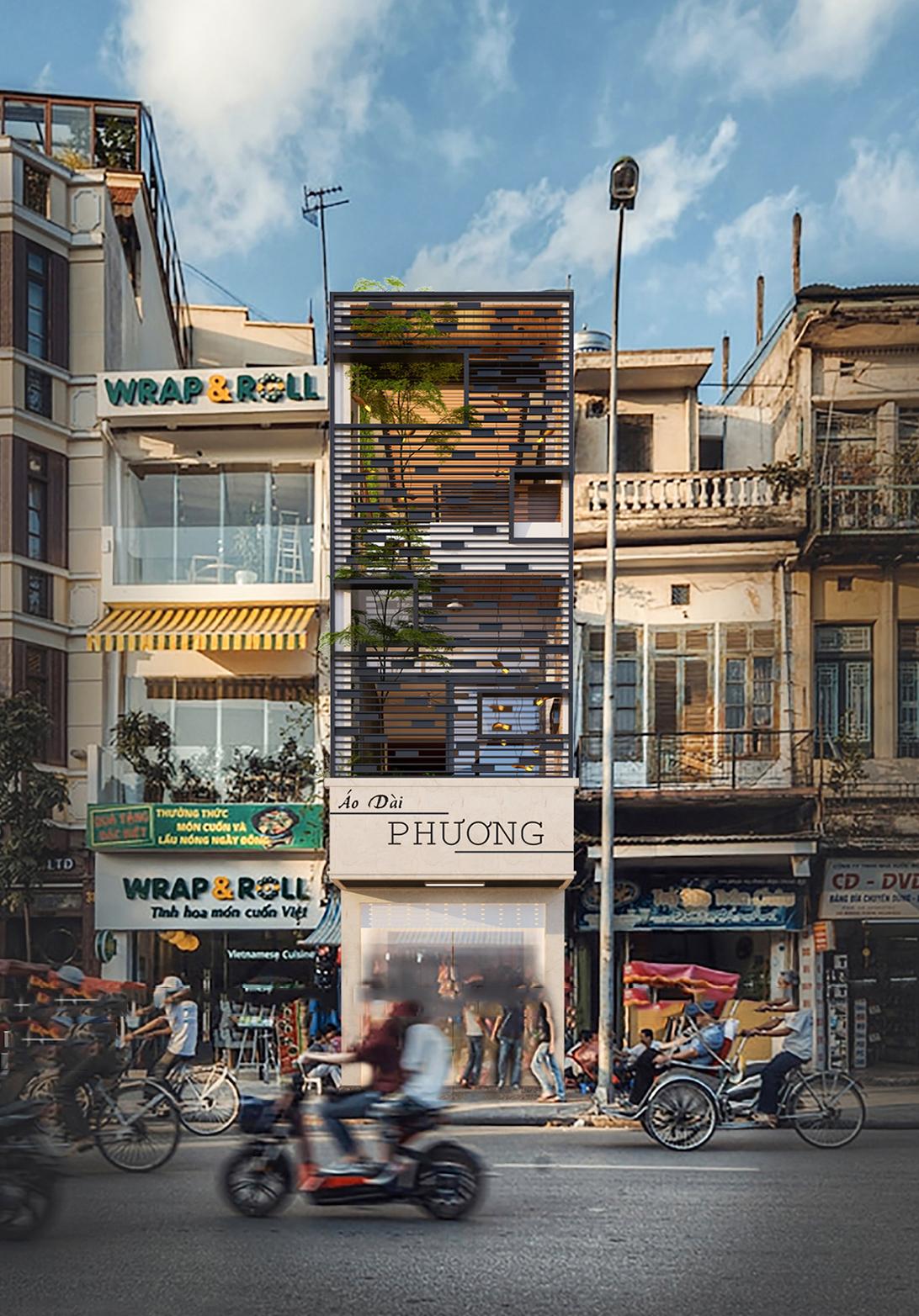 công trình nhà phố