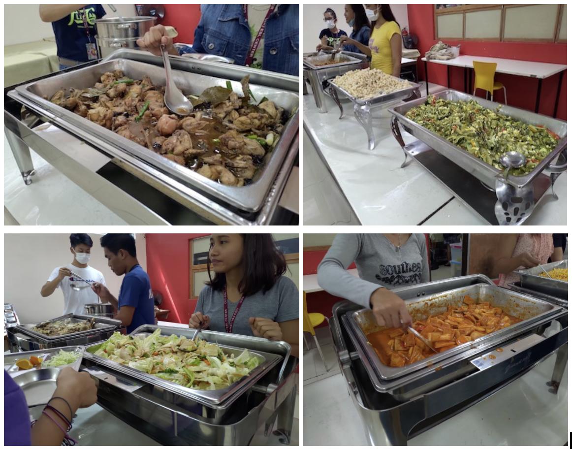 2020菲律賓遊學團CDU伙食