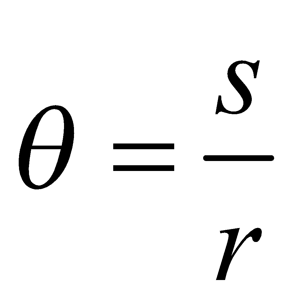 Angular displacement is the measure of the angle in radian, by which the position of point changed