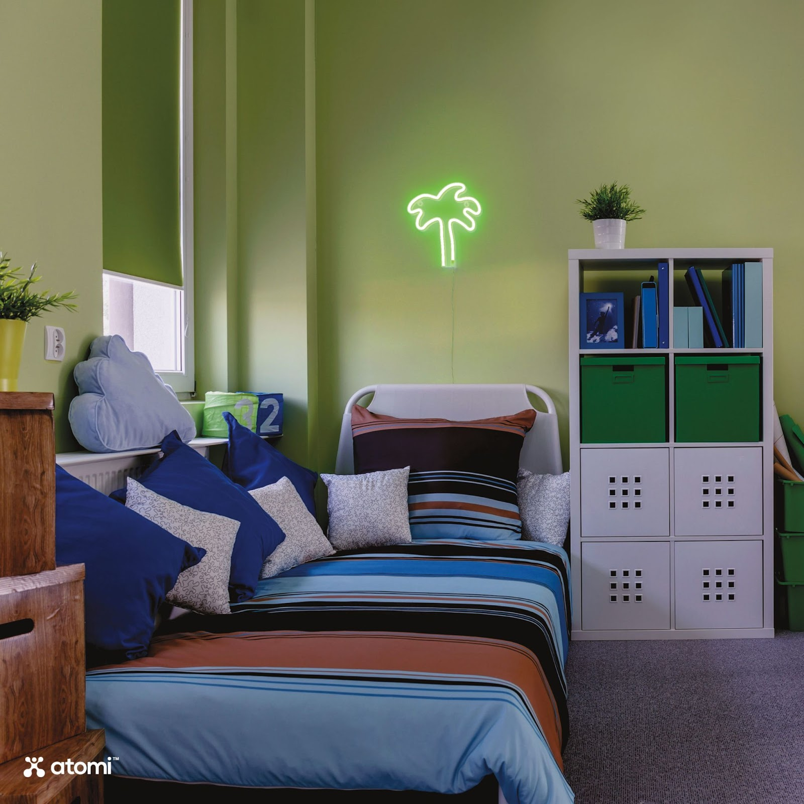 Modern Look with Neon Lights