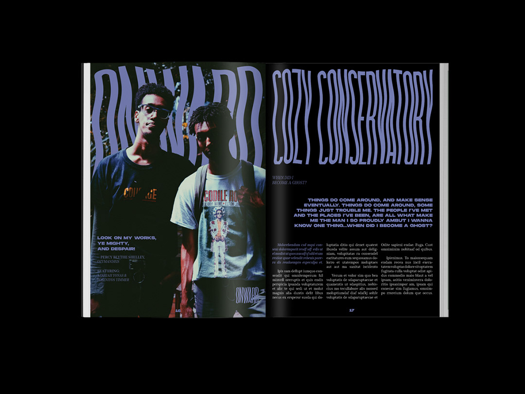 cover editorial Layout Lookbook magazine Magazine design magazine layout print design  Project spread