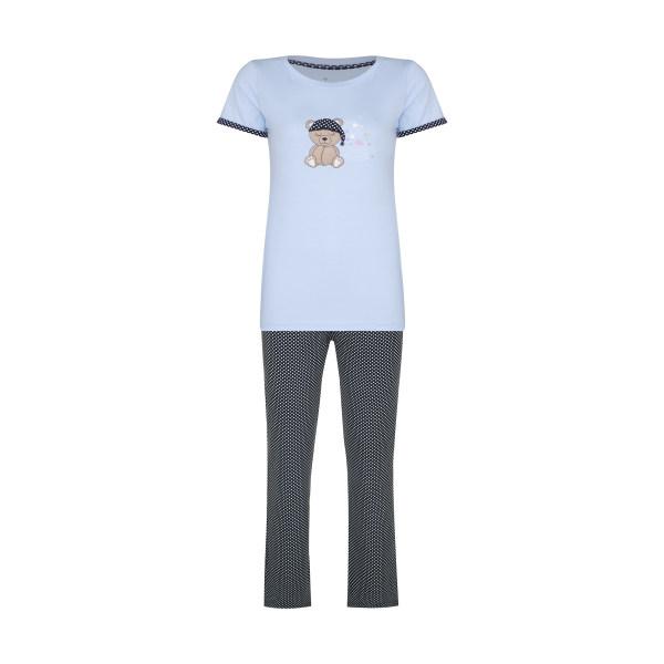 ست تی شرت و شلوار زنانه ناربن مدل 1521321-51